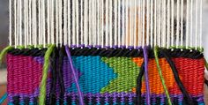 Intro to Tapestry Class: Triangles and Random Geometrics | Mirrix Looms