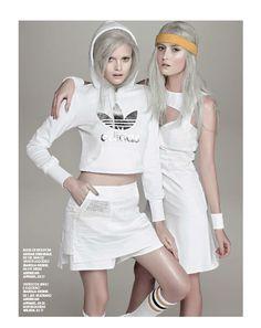Marie Claire Brasil Setembro 2013 | Nathália Oliveira e Natália Heizen por Gui Paganini [Editorial] Blog de Moda