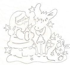 Украшение окон на Рождество и Новый год. И трафареты. - Клуб Новогодних Идей или Готовь сани летом. - Страна Мам