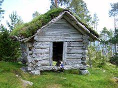 1000 year old viking hut - norway