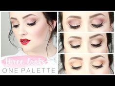 Three Looks, One Palette: Tarte x Grav3yardgirl Swamp Queen Palette | Becca Rose - YouTube