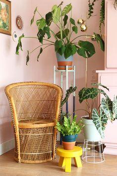 MY ATTIC SHOP / vintage rattan chair / wicker / pauw stoel / boho Photography: Marij Hessel www.entermyattic.com #RattanChair