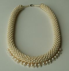 'Pearl' Bead Crochet Rope   Flickr - Photo Sharing!