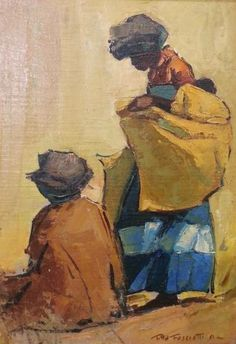 Titta Fasciotti Xhosa women Oil on Board Xhosa, Cut Photo, African Theme, South African Artists, Old Master, Figurative, Masters, Art Decor, Design Ideas