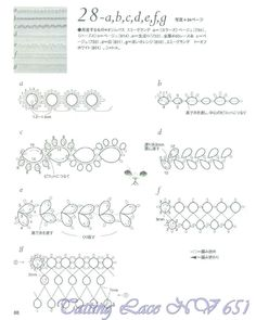 Tatting lace nv6517 part2 by MinjaB - issuu