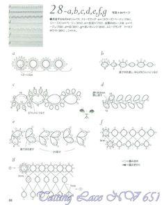 Tatting lace nv6517 part2 by MinjaB - issuu