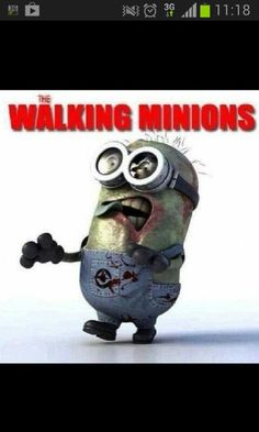 Walking dead minon!!!!! OMG!! THIS IS AWESOME!!!!!