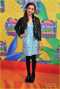 Rowan Blanchard - Kids Choice Awards 2014