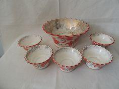 Saladeira Weiss / Jogo Travessa + 5 Tigelas Bowl Porcelana - R$ 120,00 no MercadoLivre