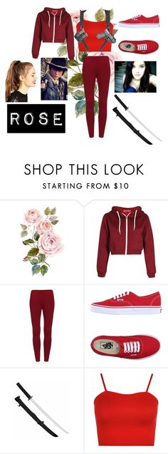 """""""Rose #15"""" by christiana-samuel on Polyvore featuring Vans, WearAll and ASOS"""
