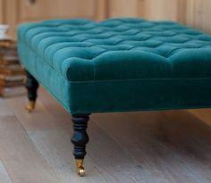 Beautiful Grace Tufted Ottoman/Bench 48x24x17 por LoveAtHomebyJenny
