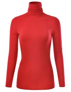 EIMIN Women's Long Sleeve Turtleneck Lightweight Pullover Top Sweater Turtleneck T Shirt, Long Sleeve Turtleneck, Sweater Shirt, Pullover Sweaters, Jumper, Trousers Women, Turtle Neck, Mock Turtle, Sweaters For Women