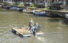Redneck DIY Pontoon Boat – Funny Pic