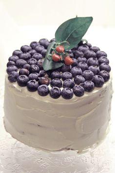 wabi: Lavender and blueberry cake - Τούρτα λεβάντα και μύρτιλλο