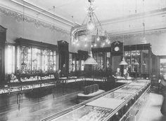 This is a picture of the original Faberge store on 24 Bolshaya Morskaya in St. Petersburg, ca. 1910.