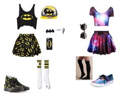 """me and bestie"" by destoneyp ❤ liked on Polyvore featuring Retrò, Vans and Converse"