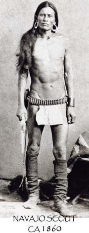 Navajo Scout, circa 1860