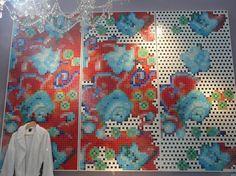 BISAZZA / Fresco Paola Navone, Fresco, Italy, Bologna, Architecture, Painting, Art, Arquitetura, Art Background