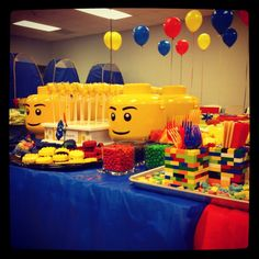 lego party idea LOVE it!!!!