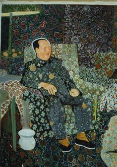 Yu Youhan - Seated Mao, 1996