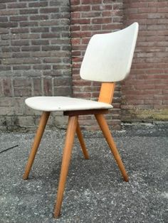 Dining Chairs by Cor Alons for Lutjens/De Boer, 1950s, Set of 4 7
