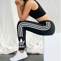 """""""Adidas"""" Women Stretch Leggings Sweatpants Exercise Fitness Sport Pants Trousers from Your Closet. Sport Style, Fitness Style, Fitness Fashion, Fitness Sport, Nike Fitness, Sport Fashion, Fashion Outfits, Fashion Trends, Fashion Shoes"""