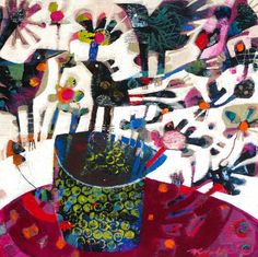 Online Gallery of the West Australian, Margaret River based Painter and Applied Artist, Fi Wilkie.