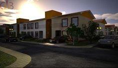 Cross Section of the Terrace houses (Pearl Nuga Park Estate, Sangotedo)
