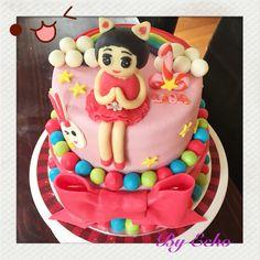 Birthday cake for Lisa.