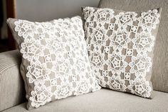 Linen pillow case by SofiArtVision on Etsy