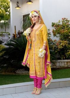 Bridal Mehndi Dress