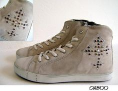 Sneakers CIABOO Donna - Taupe Croce Ghotic