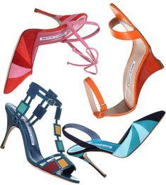 Manolo Blahnik Spring Summer 2016 #fashionista Pretty Shoes, Beautiful Shoes, Summer 2016, Spring Summer, Summer Feet, Shoe Boots, Shoes Heels, Fab Shoes, Manolo Blahnik Heels