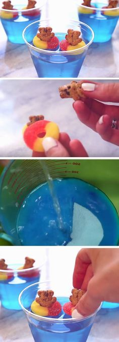 Teddies in The Pool | DIY Pool Party Ideas for Teens