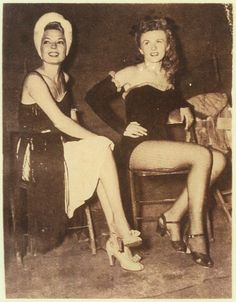 Frances Langford & Patty Thomas, 1944. USO - Camp Shows, Inc. - SWPA. | The Library of Congress