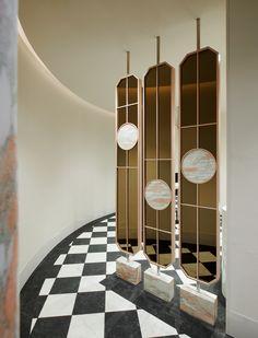 Wind Chimes, Interior Architecture, Melbourne, Elegant, Outdoor Decor, Powder Rooms, Inspiration, Bathrooms, Design