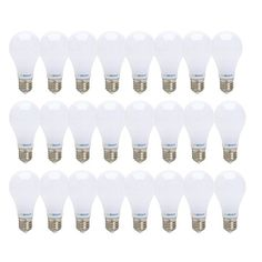 tento LED Gu10 Bulbs Daylight White Dimmable 6000k 50w UL-Listed Halogen Equivalent COB Technology Pack of 10 Units