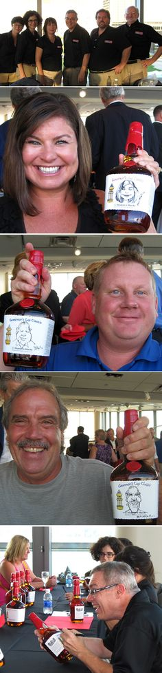 Recently, Makers Mark hired 6 artists from Goofy Faces to draw caricatures of guests who purchased bottles of whisky during a charity event at the Muhammad Ali Center in Louisville, Kentucky. Each caricature was drawn directly onto a custom label on the front of each bottle. Do you have a unique idea on how to use our artists for your event? Contact us at www.goofyfaces.com and we will be happy to explore them with you.