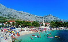 baska voda croatia My first and only topless beach experience Hvar Island, Island Beach, Makarska Croatia, Republic Of Venice, Living In Brazil, Split Croatia, Tourism Website, Need A Vacation, Travel Photos