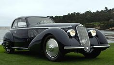 Exquisitely Crafted, Very Rare and Beautifully Presented. This is a 1937 Alfa Romeo 8C 2900B Corto Touring Berlinetta!!