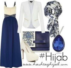 Navy and cream sexy sophistication  ! I love the detailed patterns ♡
