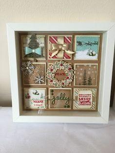 Julie Kettlewell - Stampin Up UK Independent Demonstrator - Order products 24/7: Christmas Collage Frame