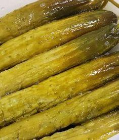 갈변 없이 다진마늘 오랫동안 보관하는팁! K Food, Korean Food, Pickles, Asparagus, Cucumber, Bacon, Food And Drink, Dishes, Vegetables