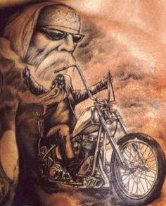 inked tattoo biker -