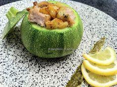 Zucchine ripiene di tonno rosso - Zucchini stuffed with red tuna