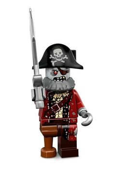 13acd407f3 2015 Lego Minifigures Series 14 Monsters ZOMBIE PIRATE - New and Sealed! in  Toys