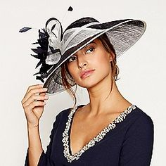 From Debut, this saucer fascinator will make a perfect finishing touch to your any special occasion ensembles. This statement design features a large appliqu bow with feather detailing while resting on a headband for added comfort. Occasion Hats, Special Occasion, Groom Outfit, Debenhams, Mother Of The Bride, Fascinator, Bride Groom, Navy, Outfits