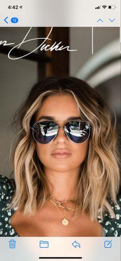 Hair Color For Brown Eyes, Dark Blonde Hair Color, Ombre Hair, Balayage Hair, Wavy Hair, Redken Hair Color, Boat Hair, Redken Hair Products, Honey Hair