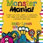 Monster Mania Math! 15+ activities for common core math skills!