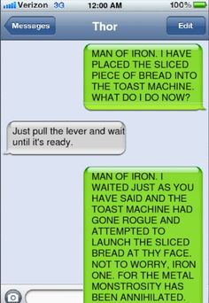 """I can just imagine Tony sighing and saying """"why did I sign up for this again?"""""""